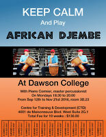 African Djembe Drumming Course