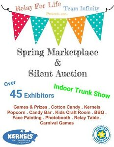 VENDORS WANTED - Spring Marketplace & Silent Auction