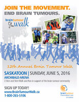 Volunteers for the Brain Tumour Walk