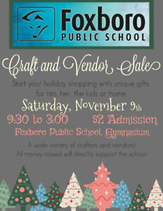 Foxboro Public School Craft & Vendor Show