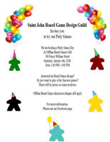 Party Game Day hosted by Saint John Board Game Design Guild