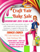 VENDORS WANTED - Craft & Bake Sale