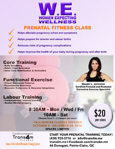 Prenatal Fitness Class*  Healthy Mom = Healthy Baby! West Island Greater Montréal image 1