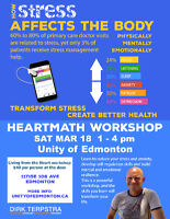 HEART MATH  WORKSHOP with DIRK TERPSTRA