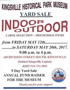 9 Day Charity Yard Sale