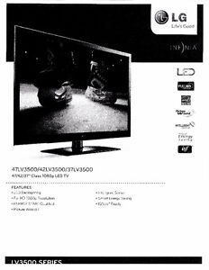 """47"""" 1080P HDTV and 3D Blu-ray Home Theater System"""