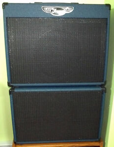 Traynor YCV50BLUE Amp and YCX12BLUE Extension for $600