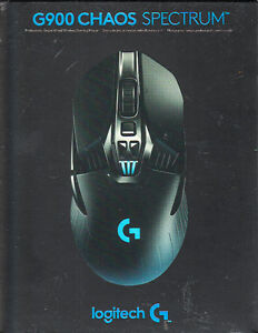 *NEW* Logitech G900 Chaos Spectrum Wired/Wireless Gaming Mouse