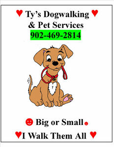 ** ☼☻Ty's Dog Walking and Pet Care - Mature Man ☻☼ **