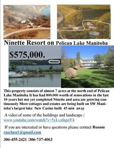 Property for sale on Pelican Lake ,Ninette Manitoba