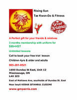 TAE KWON-DO LESSONS RISING SUN CHRISTMAS OFFER