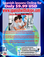 Skype Spanish Lessons With Native Teachers Only $ 9.99 US