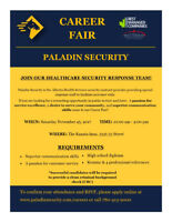 Paladin Security Career Fair / Open House - Whitecourt
