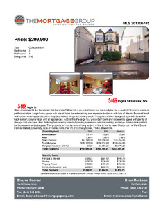 Great downtown condo in Heritage Property!