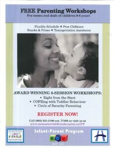 Right From The Start - Free 8-Session Parenting Workshop