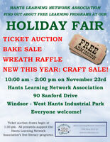 Artists and crafters wanted for Holiday Craft Fair Nov. 23rd
