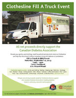 Clothesline Fill A Truck Event