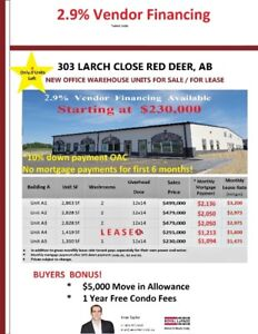 New Office Warehouse Units For Sale or Lease