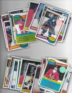 SALE FROM 1970/71 OPC HOCKEY TO 1980/81 OPC