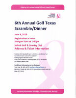 Volunteers Needed - Breast Cancer Golf Tournament