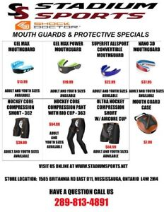 Great Deals on Lacrosse Mouthguards, Cups and Compression