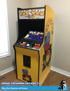 Home Arcade Full Size Cabinet with 9,880 games & Warranty-New