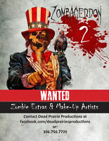Zombie Extras Wanted
