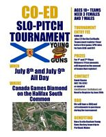 Nova Scotia Young Guns Co-Ed Slo-Pitch Tournament