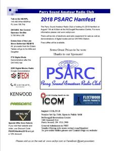 Parry Sound Amateur Radio Hamfest