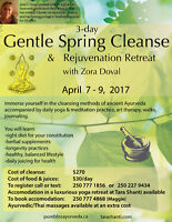 Feel Better with our Spring Cleanse Rejuvenation Retreat