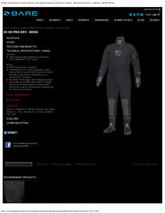 Bare D6 drysuit and dive gear. Never Used London Ontario image 3