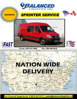 START IMMEDIATELY !! CARGO VAN DRIVER **CROSS BORDER**