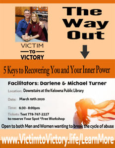 Victim to Victory Presents the Way Out! 5 Keys to Recovering You