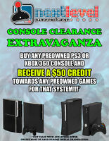 Next Level Game Exchange Console Sale!