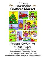 6th Annual Prospect Road Crafters Market