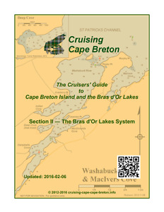 Cruisers' Guide to Cape Breton and Bras d'Or Lakes