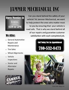 JAMMER MECHANICAL YOUR ONE STOP SHOP