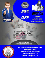 Brazilian Jiu-Jitsu & Judo 1day only Half Price Membership Sale!