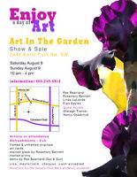 Seventh Annual Art in the Garden 2015