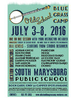 Old School Bluegrass Camp! Spots are limited!