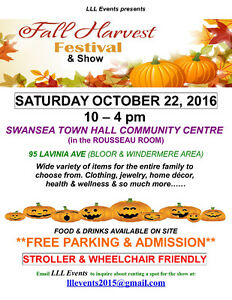 VENDORS WANTED SHOW OCT 22, 2016