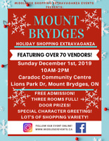 Mount Brydges Holiday Shopping Extravaganza