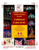 Cultural Gala of Greater Moncton Asian Heritage Festivals 2016