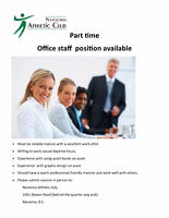 Office Person required