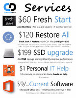 Computer (MAC or PC) Service, Repairs and Upgrades