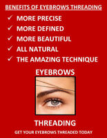 Eyebrow Threading and Waxing services at very Low rates