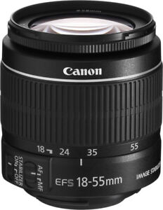 Wanted a Canon DSLR Lens. 18-55, 18 -135, OR 75-300 mm.