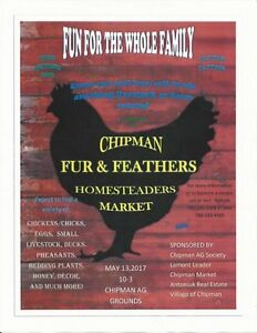 Chipman Fur & Feathers Homesteaders Market