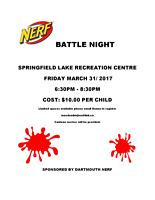 Nerf night!