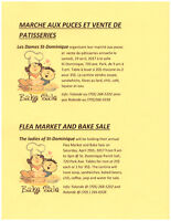 Flea Market and Bake Sale